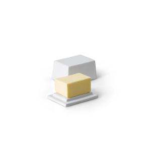 Continenta   Butterdose, Keramik 125 Gramm
