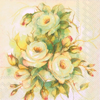 IHR   Servietten Scent of Roses