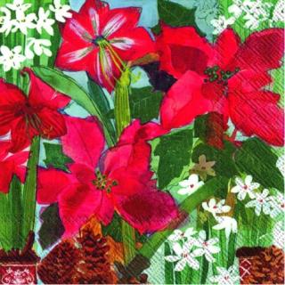 IHR | Servietten Holiday Flowers