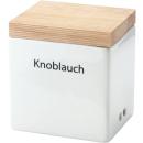 Continenta   Vorratsdose Knoblauch, Keramik