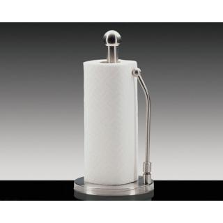 Küchenprofi Papierrollenhalter  mit Fixierfeder - Edelstahl