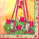 IHR | Servietten Advent Wreath