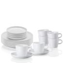 Arzberg | Kaffeeset Cucina Basic, Weiss 18-teilig
