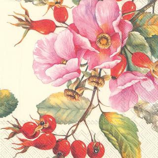 IHR   Servietten Wild Rose