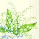 IHR | Servietten Convallaria Cream