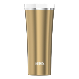 Thermos  Isolierbecher Premium gold/white
