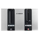 Bosch | Toaster 4-Schlitz Edelstahl mit Silikon
