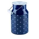 Riess | Milchkanne mit Deckel Emaille 2 Liter