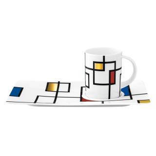 Königlich Tettau | Tablett-Set  Areas  2tlg /Tettau Atelier