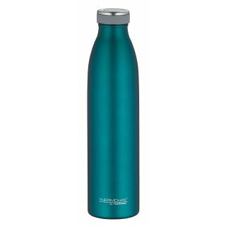 Thermos | ThermoCafé Isolierflasche Edelstahl teal matt, 0,75l