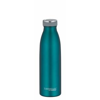Thermos | ThermoCafé Isolierflasche teal matt, 0,5 Liter