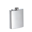 Cilio | Taschenflasche Edelstahl poliert, 200ml