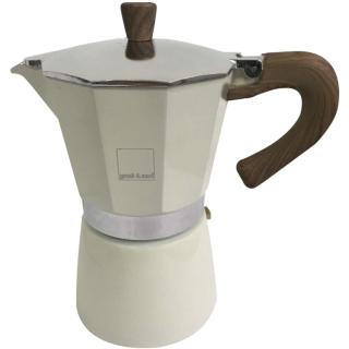 Gnali+Zani | VENEZIA Espressokocher 6-tassig, Cream