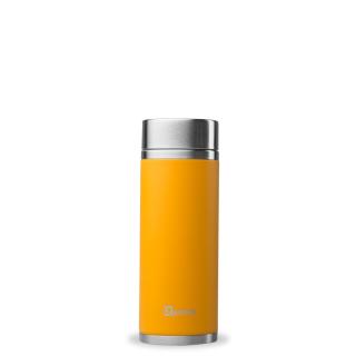 Qwetch | Tea to Go orange, Edelstahl doppelwandig 300 ml