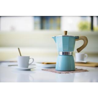Gnali+Zani | VENEZIA Espressokocher Alu 6tassig, Harbour Blue