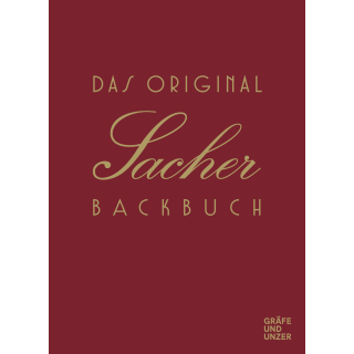 GU | Original Sacher Backbuch