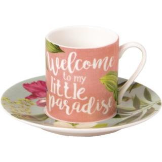 IHR | Espressotasse Welcome to Paradise
