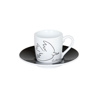 Könitz   2er Espressotassen-Set Picasso La Colombe..