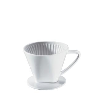 Cilio | Kaffeefilter, Porzellan 4-tassig