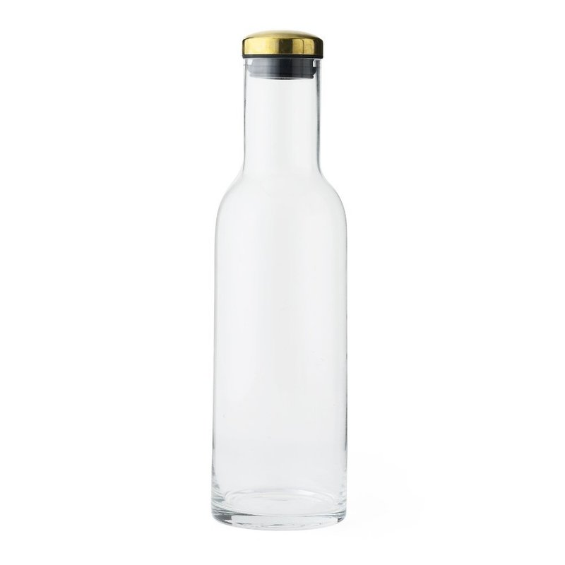 menu Wasserkaraffe brass
